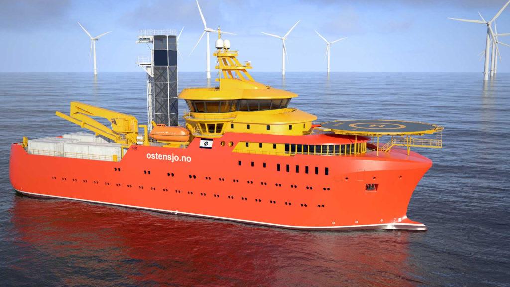 Østensjø grønne smarte skip