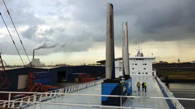 DFDS stålseil i boks Econowind