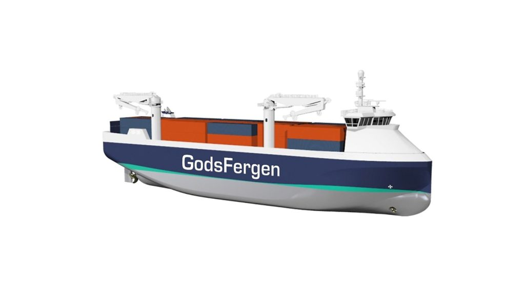 Prosjekt GodsFergen hybrid
